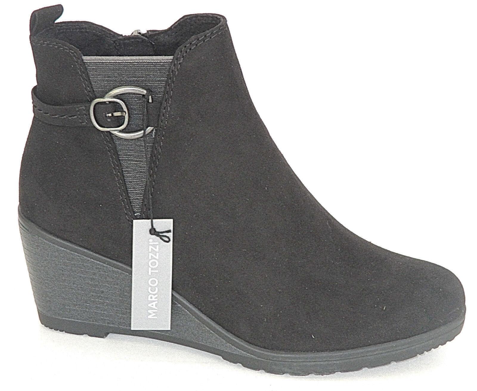 Marco Tozzi Tozzi Tozzi Zapatos señora botín con cuña-párrafo, 2-25042-21 +++ nuevo +++  ordenar ahora