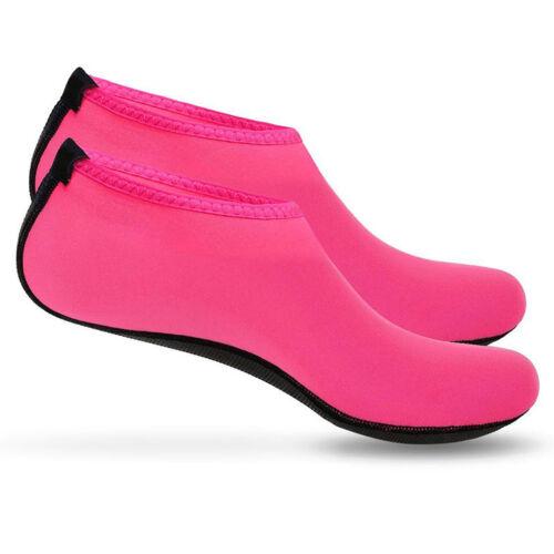 Mens Womens Water Skin Shoes Aqua Socks Beach Swim Surf Yoga Exercise Sock HOT