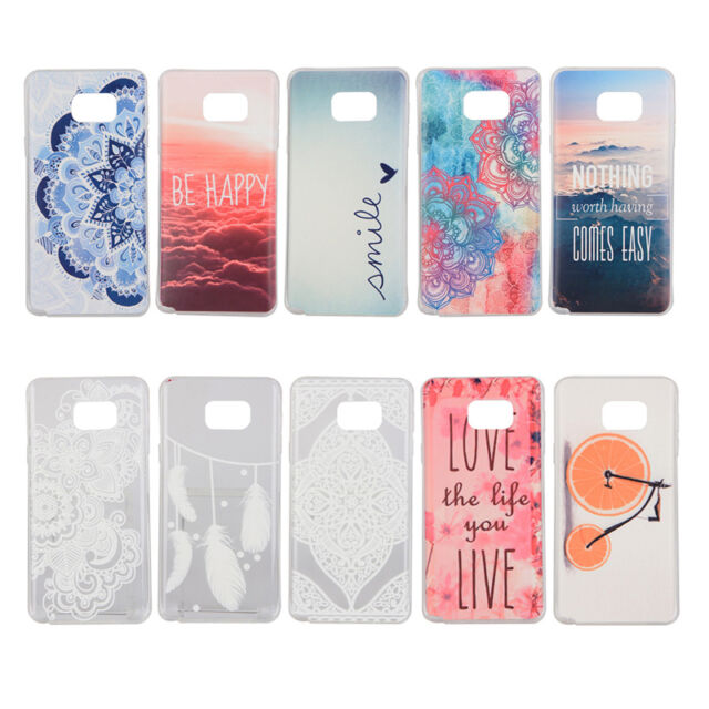 TPU Mobile Phone Shell Soft Skin Back Case Cover For Samsung Galaxy Note 5