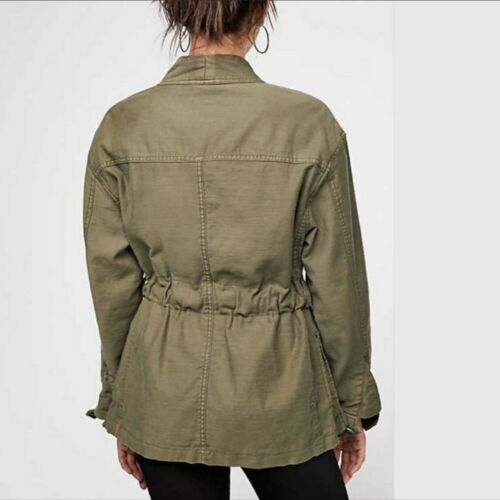 Free Green Nature Ceinture Moss In Army Veste Moyenne Cargo Our Nwt People dnfpda