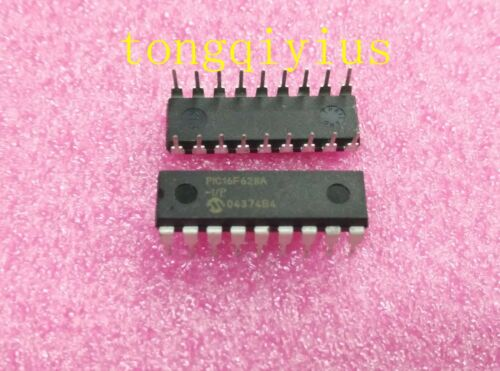 10PCS PIC16F628A-I//P PIC16F628 DIP-18 Microchip