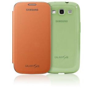 more photos 22395 8092a Details about Samsung Flip case for Galaxy S4 Mini - Orange + Green included