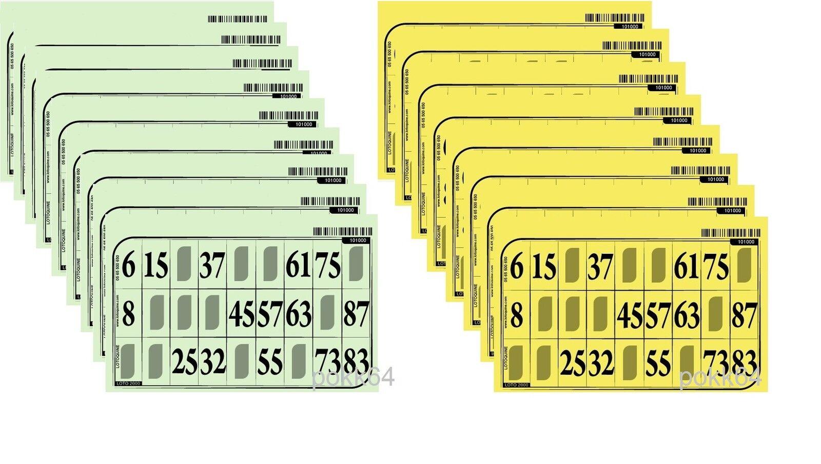 1000 autotoni de Lotto RIGIDE Grilles toutes diff;noleggio targhe