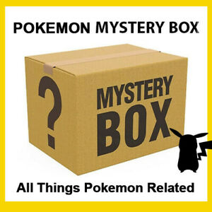 Pokemon Mystery Box Of Trading Cards Books And Toys Ebay