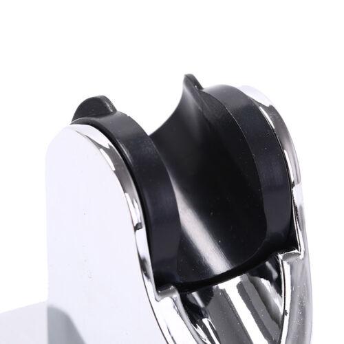 bathroom shower head holder adjust no drilling bracket mount attachable sticker
