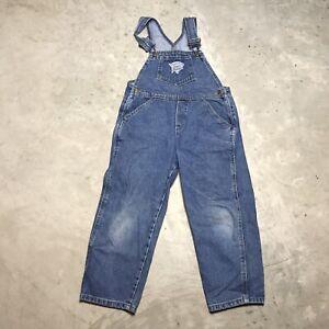 Gold Kid Sz 2T Year Bib OVERALLS Shorts Yellow Dyed Vintage Guess Denim Overall Shortalls Child Girl Boy Toddler 2 Toddler 24 Waist