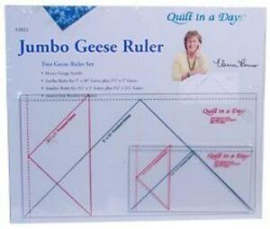 Quilt In A Day Flying Geese Ruler, Jumbo, New, Free Shipping | eBay : quilt in a day flying geese - Adamdwight.com