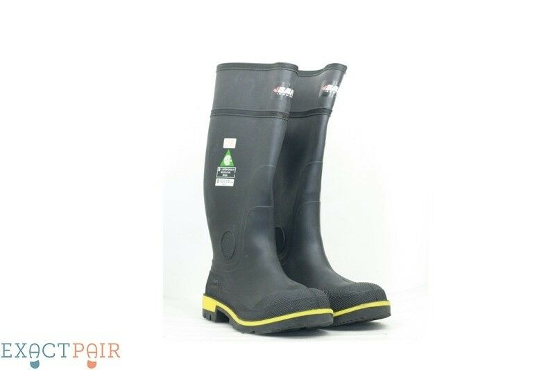 BAFFIN Men's Non-Slip Steel Toe Rubber Boots