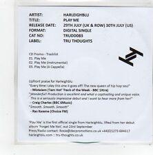 (FN13) Harleighblu, Play Me - 2013 DJ CD