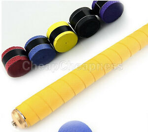 Absorb-Stretchy-Tennis-Squash-Racquet-Band-Grip-Anti-Slip-Tape-Overgrip-JG