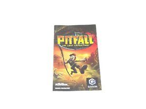 Pitfall-the-lost-expedition-Gamecube-Manual-Only-Instructions-Booklet-Instructio