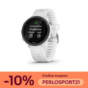GARMIN Forerunner 245 Music BIANCO Smartwatch GPS per la corsa art.010-02120-31