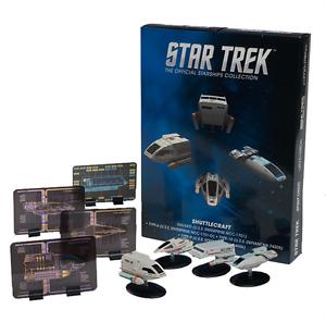 Shuttle set 1-Estrella Trek - 4 trozo-DIECAST metal modelo Eaglemoss nuevo embalaje original