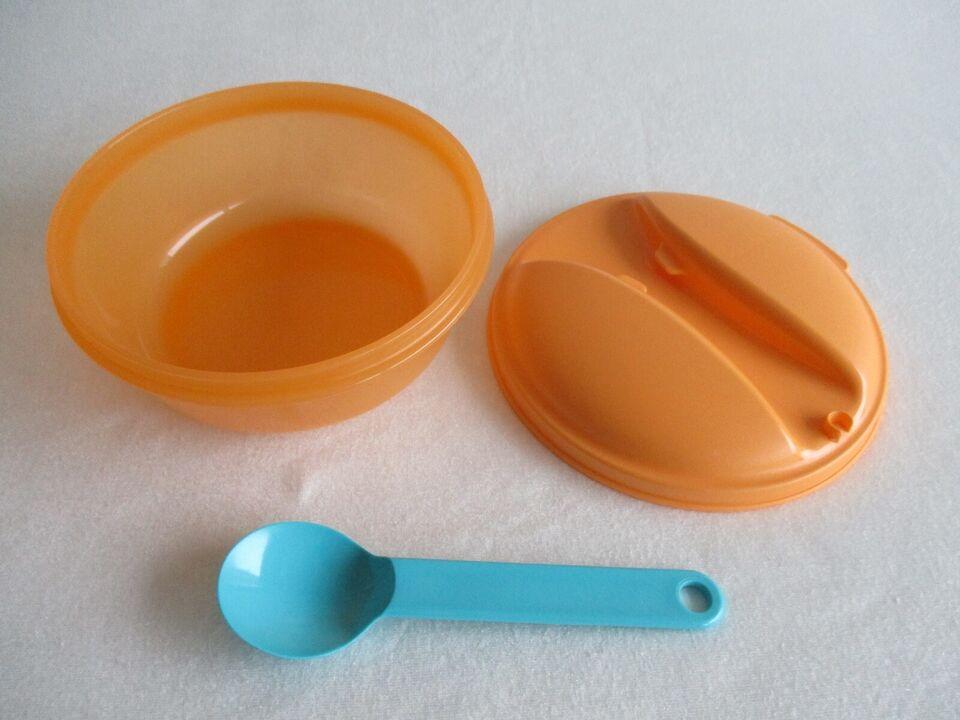 Plastik, Fruit-To-Go m/ ske, Tupperware