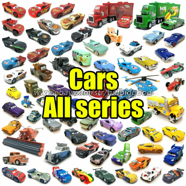 Disney Cars Movie Dinoco Chick Hicks Supercharged Blue Car Toy For Sale Online Ebay