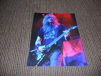 Dave Mustaine Megadeth Metallica Live Concert 8 x 10 Color Concert Photo #2