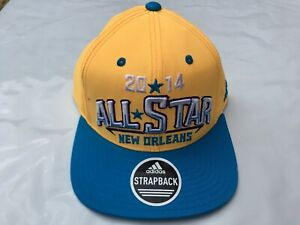 NEW-Adidas-2014-NBA-All-Star-Weekend-Hat-New-Orleans-Zion-Williams-Embroidered