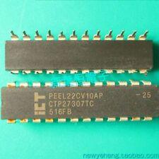 PEEL22CV10AJ-15L ICT SPLD PEEL 5V 28-Pin PLCC ROHS 4 PIECES