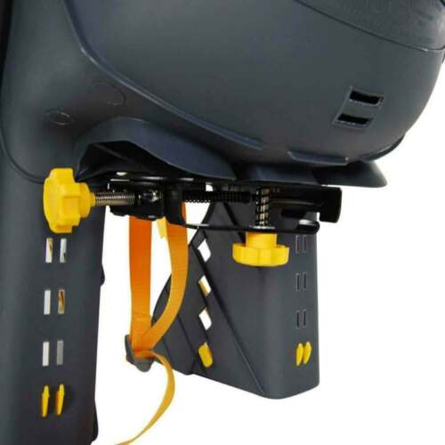 Details about  /Bicycle Kids Rear Baby Seat Carrier Bracket Footrest Set w// Handrail 22Kg Max US