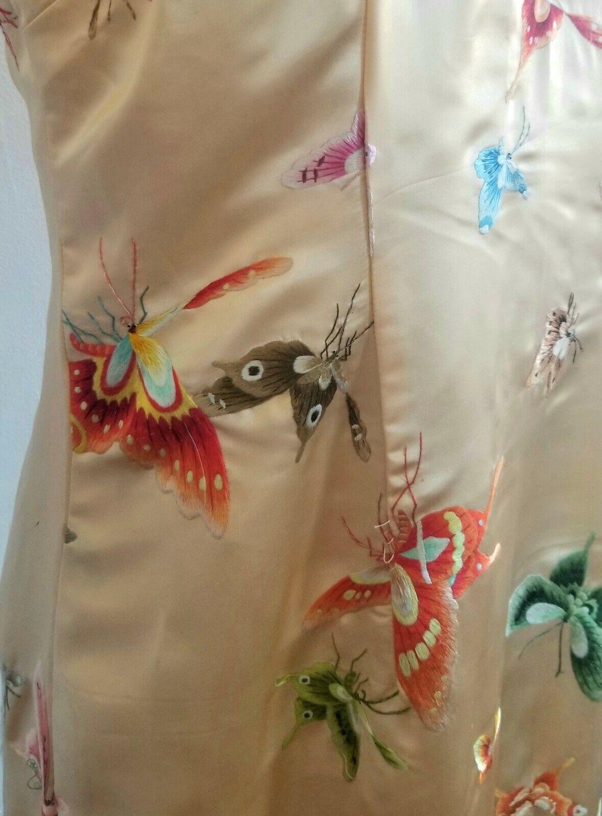 Handmade silk Qipao style dress - image 7