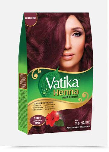 Dabur Vatika 100 Natural Henna Hair Color Creme Kit Rich Black Ebay