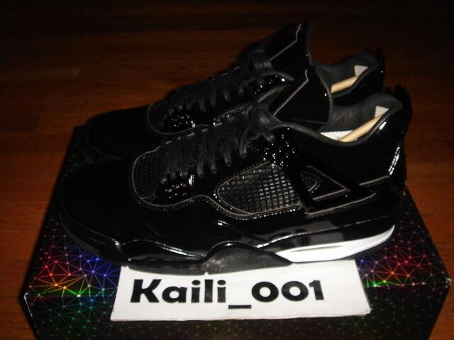 Nike Air Jordan 11LAB4 Size 11 Black OG Cement 719864-010 RED DB White B