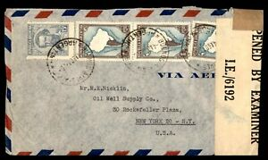 ARGENTINA-BUENOS-AIRES-OIL-WELL-SUPPLY-COMPANY-AUGUST-4-1943-CENSORED-AD-COVER-T