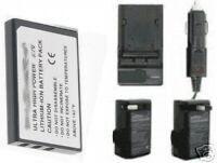 Battery + Charger For Panasonic Sv-av100pp Sv-av100s Svav100egs