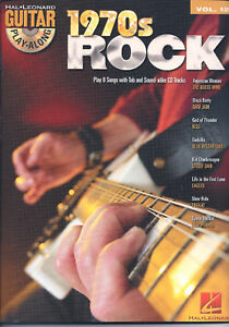 Details about 1970's ROCK - GUITAR PLAY-ALONG, MUSIC BOOK & CD VOLUME 127  BRAND NEW ON SALE!!