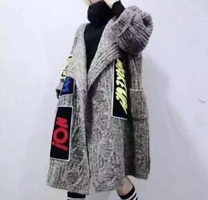 Womens-Chic-Cardigan-Kintting-Loose-Overcoats-Warm-Sweater-Outwear-Coats-Hip-Hop