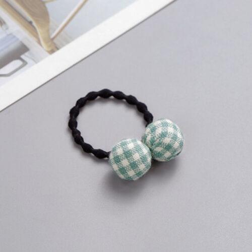 Elastic Rope Ring Hairband Women Girl Hair Band Tie Ponytail Holder Bead Pendant