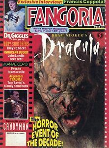 1992 Fangoria Horror #118 Dracula Body Snatchers Candyman Innocent Blood Coppola - Wien, Österreich - 1992 Fangoria Horror #118 Dracula Body Snatchers Candyman Innocent Blood Coppola - Wien, Österreich