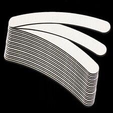 50Pcs Nail Sanding Files Buffing Curve Manicure DIY Tool #100 #180