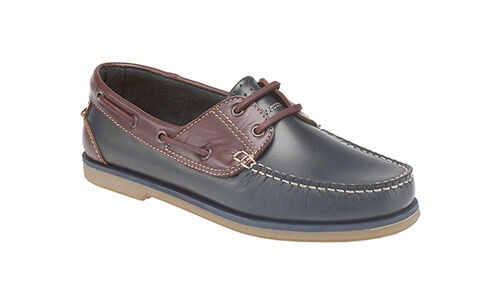 DEK Boat Moccasin Deck Leather Shoes Mens Casual Loafers Lightweight UK 6-12