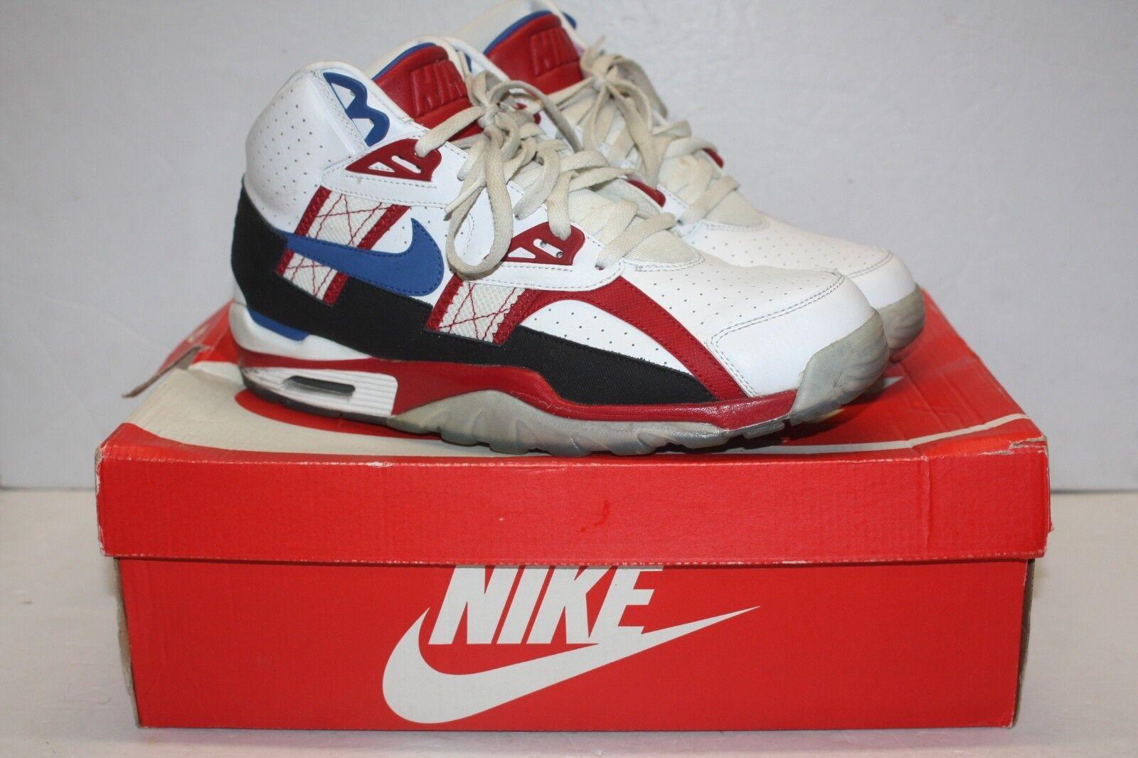 Nike air trainer sc alta il hockey qs bo sa hockey il bianco rosso - blu 811648 146 46 607996