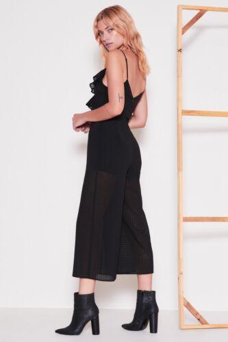 Size Small Label Fifth Black Window Sleeveless Romper The jumpsuit 87w0R1gqnx