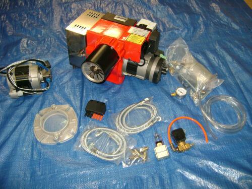 mit Eingebauter Kompressor Bairan Stw120p 10-50kw Müll Ölbrenner