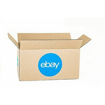 "eBay-Branded Boxes With Blue 2-Color Logo 12"" x 6"" x 6"""