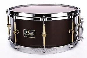"""Canopus """"the Maple"""" 10ply Snare Drum 14x6.5 Avec Cast Hoops-amer Brown Oil-afficher Le Titre D'origine Ventes Pas ChèRes 50%"""