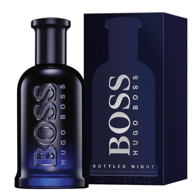 HUGO BOSS BOTTLED NIGHT EDT 100ML PROFUMO UOMO EAU DE TOILETTE  Senza La Scatola
