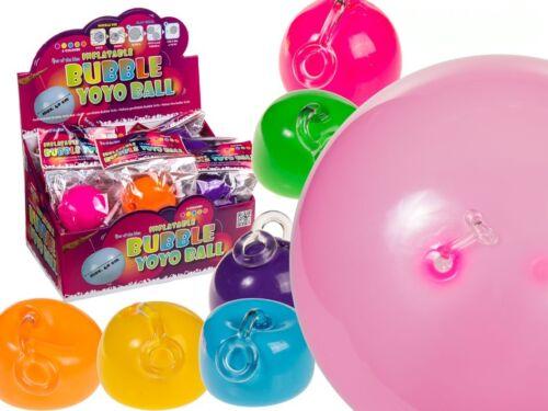 Gonflable Bulle Yo Yo 40 cm Fun Kids Cadeau Fantaisie Ballon Stocking Filler Cadeau