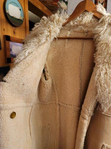 Vintage Women's sheepskin coat