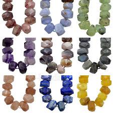"Orange Chalcedony Hand Cut Free Form Nugget Beads 13-17mm 8/"" #59067"