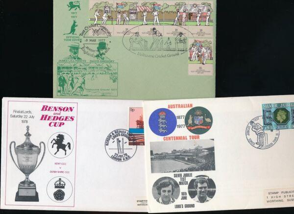 MotivéE Cricket 1977-78 Illustré Enveloppes... 5 Objets