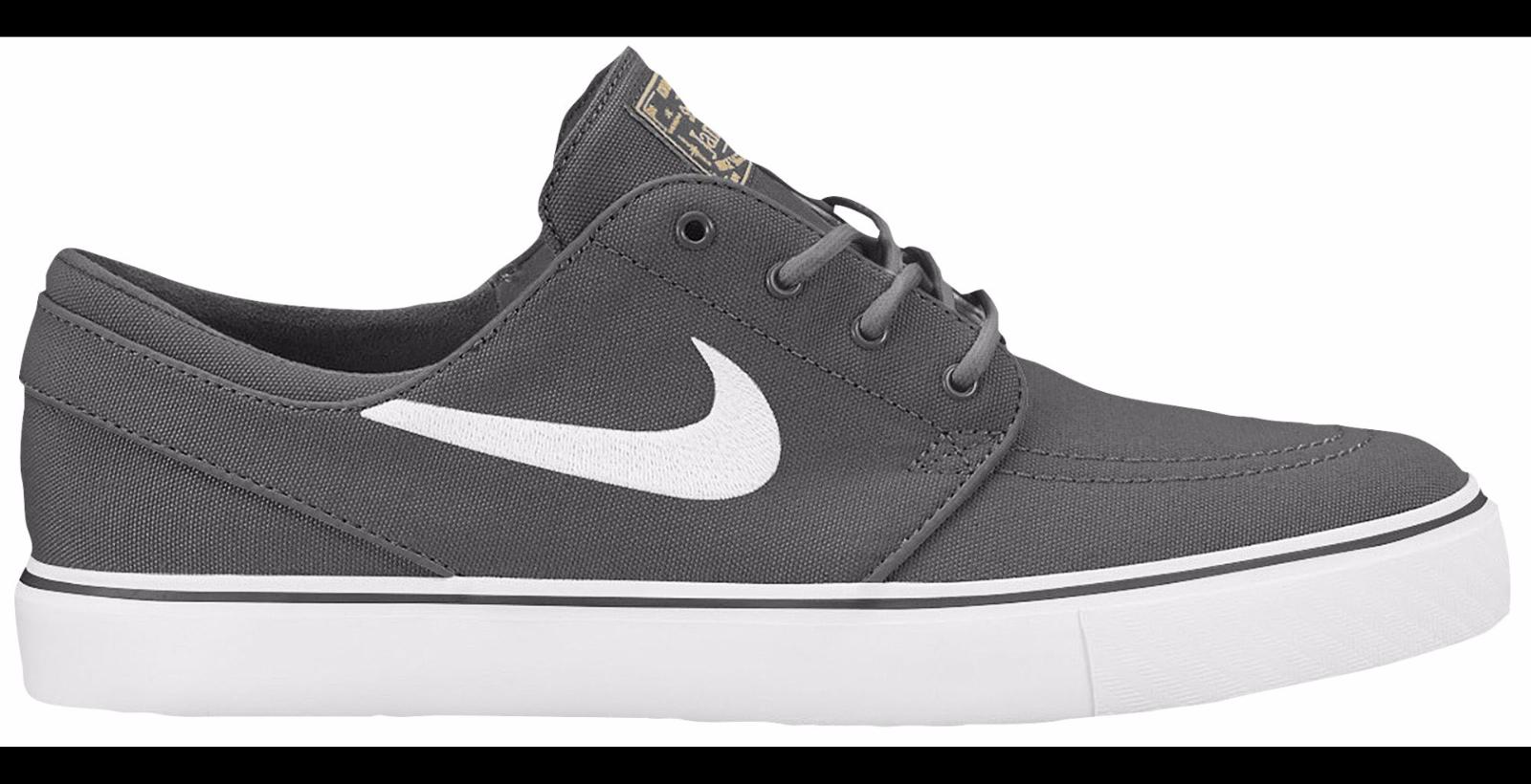 7fa48f2d6e87 Nike Zoom Stefan Janoski Dark Grey Canvas Men s Skateboard Sz 6 ...
