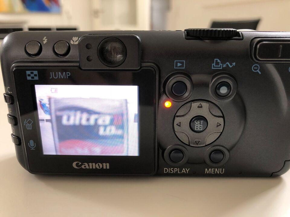 Canon, Powershot S70, 7.1 megapixels