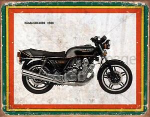 Honda CBX 1000 1980/'s Icons Motor Cycle Bike.-Pare Metal//Steel Wall Sign