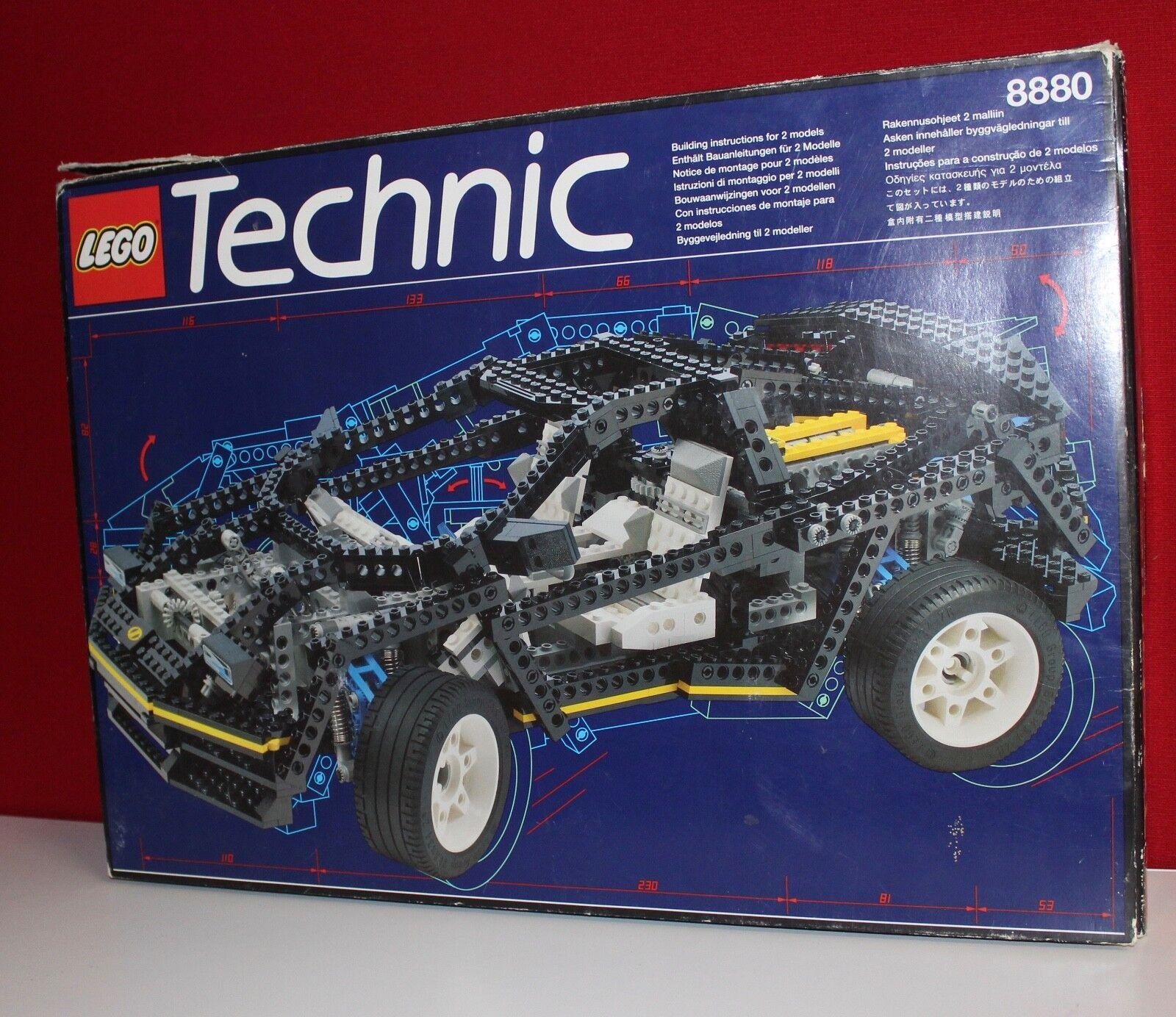 Lego Technic 8880 Technic Car OBA OVP Box Komplett