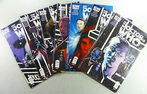 IDW-DOCTOR-WHO-PRISONERS-OF-TIME-3-5-6-7-8-9-BBC-TV-Show-LOT-VF-NM-Ships-FREE