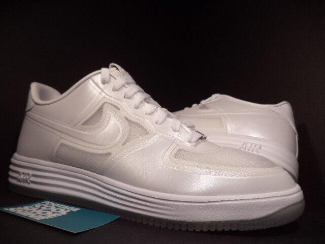 2018 Nike Fuse Lunar Air Force 1 Fuse Nike Qs Pascua Pearl Blanco Ice Soles 61449201818 11 7e84bc